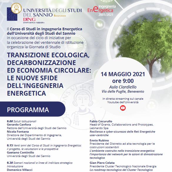 Giornata di Studio Università del Sannio 14 05 2021