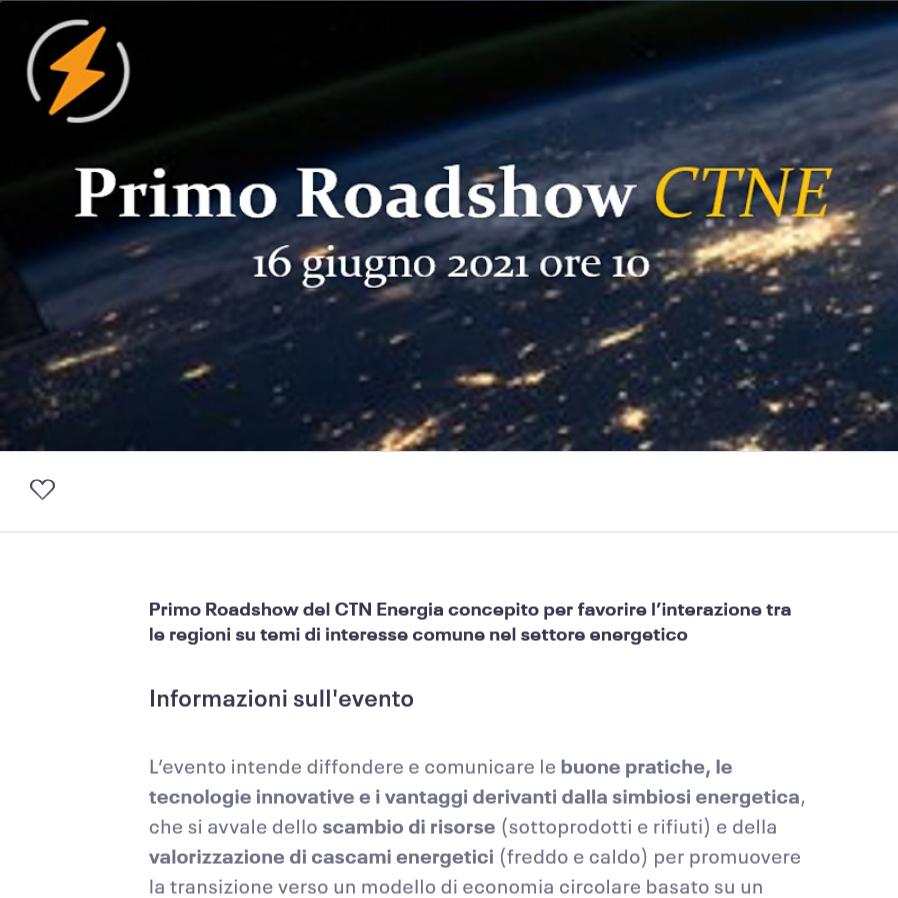 16 giugno – Primo Roadshow CTNE