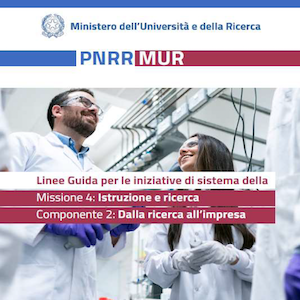 DM n. 1141 del 07/10/2021 – PNRR MUR Linee Guida per le iniziative di sistema M4: Istruzione e ricerca – C2: Dalla ricerca all'impresa